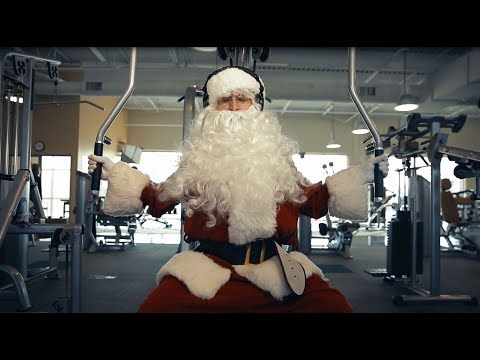 Fit Santa: Forget New Year's, Santa Is Getting Fit Now!
