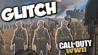 EXPLORING HIDDEN DLC MAP GLITCH ON Call of Duty WW2!! (COD WW2 Glitch)