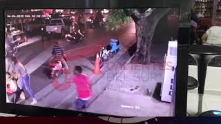 Mujeres arman tremendo REBÚ frente a un  Drink de San Juan