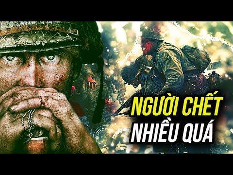 CALL OF DUTY WWII #1: CHIẾN TRANH ÁC LIỆT QUÁ MẸ ƠI !!!