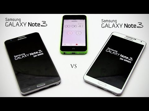 Galaxy Note 3 Snapdragon 800 Quad vs Exynos Octa (N9005 vs N900) Comparison - Benchmarks, 4K & More