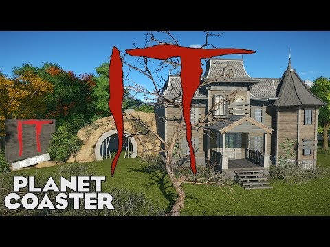 THE ESCAPE! IT Movie Coaster! Beginner Entry 04 #PlanetCoaster
