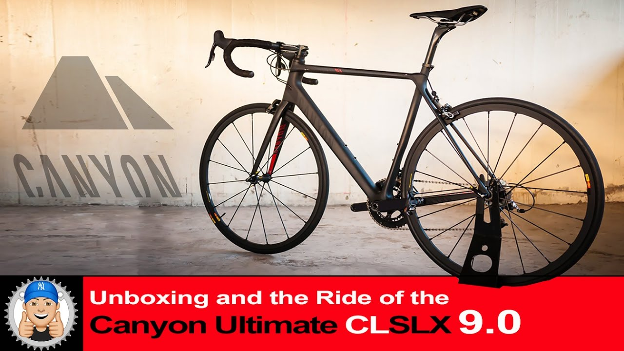 canyon ultimate cf slx road bike unboxing assembly and. Black Bedroom Furniture Sets. Home Design Ideas