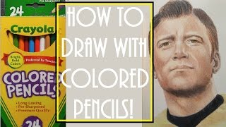 How to draw with colored pencils | Crayola