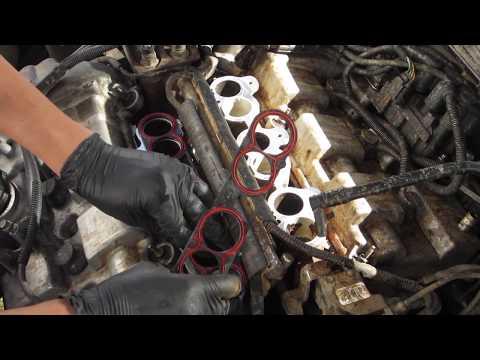 Фото к видео: Ford Duratec V6 - Empaques de punterias