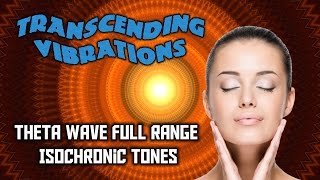 Theta Wave: Full Range Isochronic Tones - MOST EFFECTIVE SERIES - Read