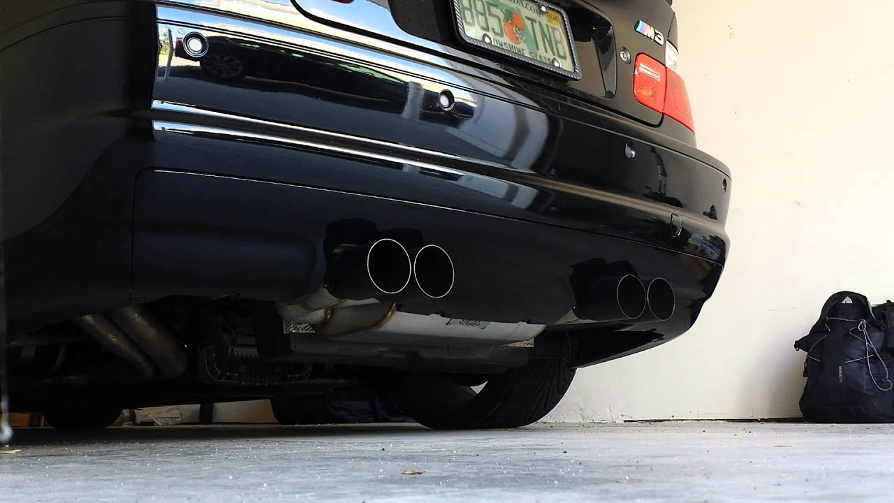 Status Gruppe E46 M3 Exhaust Youtube
