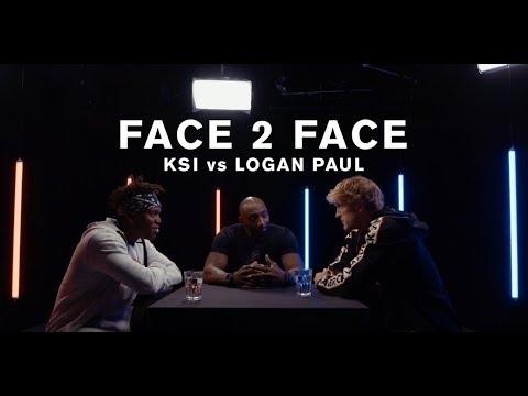 KSI vs. Logan Paul -  FACE 2 FACE