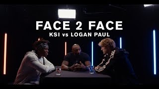KSI vs. Logan Paul -  FACE 2 FACE