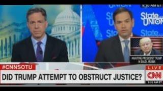 MARCO RUBIO SLAMS CNN