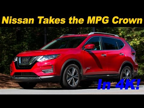 2017 Nissan Rogue Hybrid First Drive Review and Road Test in 4K UHD!