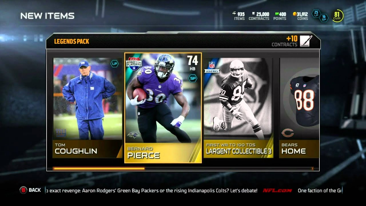 Madden 15 Ultimate Team We Pulled ANOTHER LEGEND