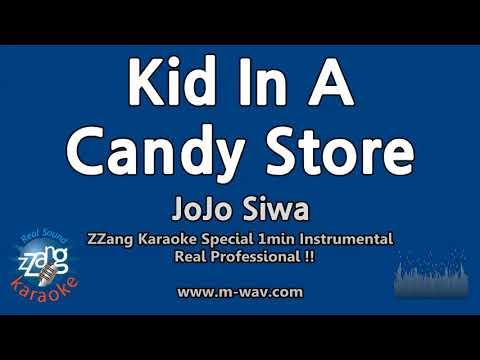 JoJo Siwa-Kid In A Candy Store (1 Minute Instrumental) [ZZang KARAOKE]