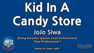 JoJo Siwa-Kid In A Candy Store (1 Minute Instrumental) [ZZang KARAOKE]