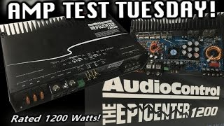 Amp Test Tuesday - AudioControl Epicenter 1200  Rated 1200 Watts! + BONUS AMP GUTS!