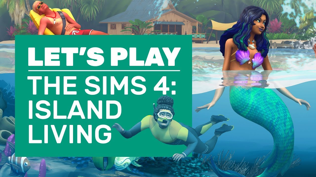 The Sims 4 now lets you be a mermaid in Island Living | Rock