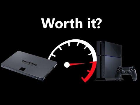 PS4 SSD Load Time Comparison