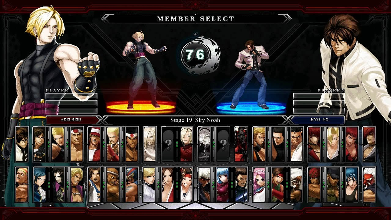 the king of fighters تحميل لعبة