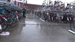 Bicycle Stacks in Holland Nijmegen Netherlands Dutch Bike Bikes Cycling