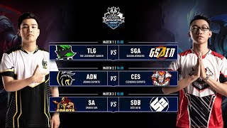 TLG vs SGA | ADN vs CES | SA vs SDB - Vòng 5 ĐTDV SerieB Mùa Đông 2019