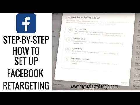 Step-by-Step: How to setup Facebook RETARGETING marketing for exponential profits.