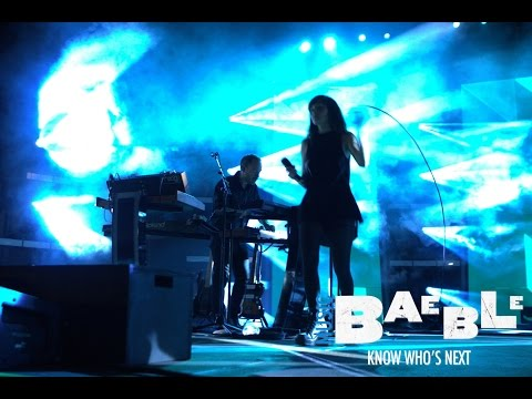 Chvrches performs