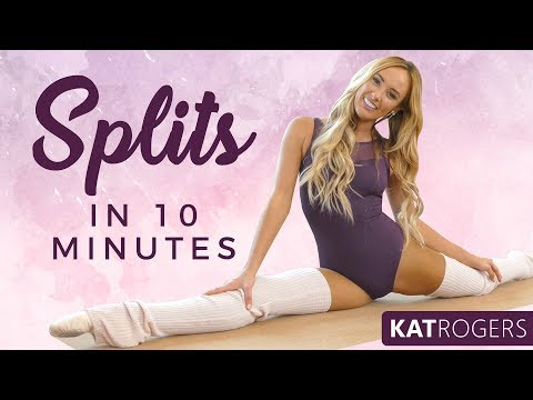 Splits Flexibility Ballet Stretches | Professional Dancer, Kat Rogers, How to, At Home