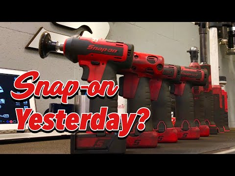 SNAP-ON WEDNESDAY! - Adding To My 14.4 Family