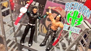 WWE HARDYS MELTDOWN REVIEW! Elite Epic Moments 2pk Matt and Jeff Hardy Boyz Wrestling Figures!