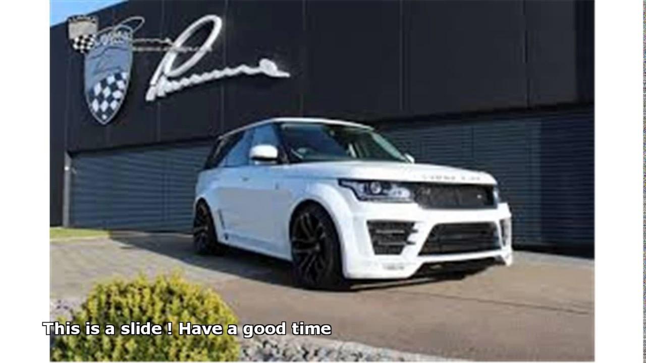 Lumma Clr R Range Rover Sound Youtube