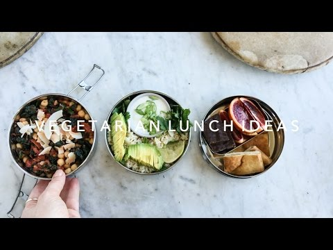 Vegetarian Lunch Ideas: One Sauce / Three Lunches