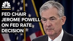 Fed Chair Jerome Powell on Fed rate decision - May 1, 2019