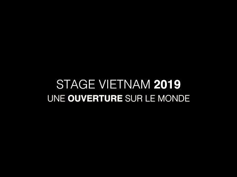 Vidéo Promo Stage-Vietnam 2019