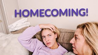 HOW SHE GOT ASKED TO HOMECOMING!