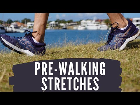 Stretches Before Walking that Lengthen your Stride Physio Stretch Routine