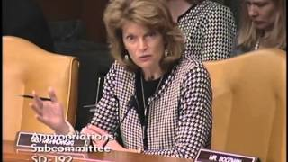 "Murkowski Questions ""Harsh Discipline"" Within DOJ"