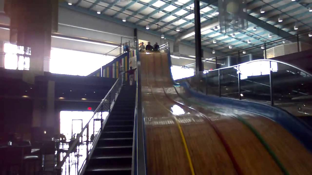 The Old Fun House Slide Youtube