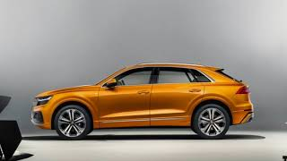 The Biggest SUV Coupe : 2019 AUDI Q8
