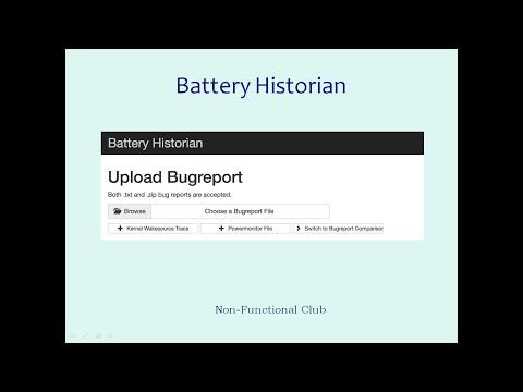 Battery Historian Part 1: Basics And Installation Using Docker Tool-box