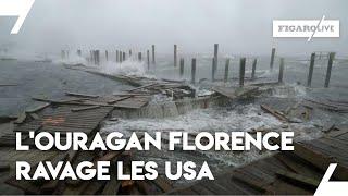 Des inondations ravagent la côte est des États-Unis