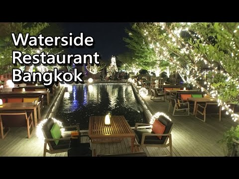 Waterside Restaurant Bangkok (Thai Food / Karaoke Restaurant) Bangkok Must Try Restaurant