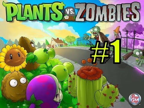 ч01 Plants vs Zombies 2 Растения против Зомби 2