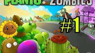 Смотреть Растения против зомби #1