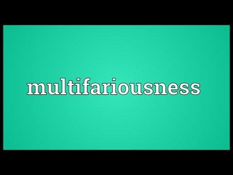 Header of multifariousness