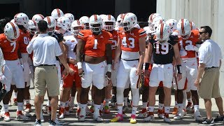 Caneville - Miami Hurricanes scrimmage 2 | MORE ACCESS OFFER BELOW