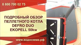 Подробный обзор автоматического пеллетного котла Defro Duo EkoPell