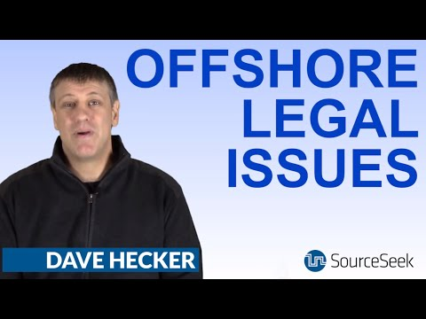 Legal Concerns And The Offshore Software Contract