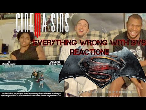 Everything Wrong With Batman V Superman LATE REACTION!