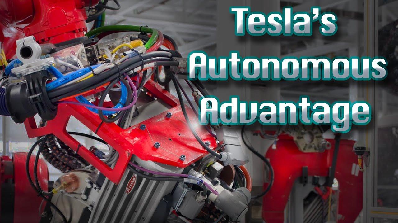 How Autopilot And Tesla's Own Silicon Gives It An Autonomous Production-Line Advantage