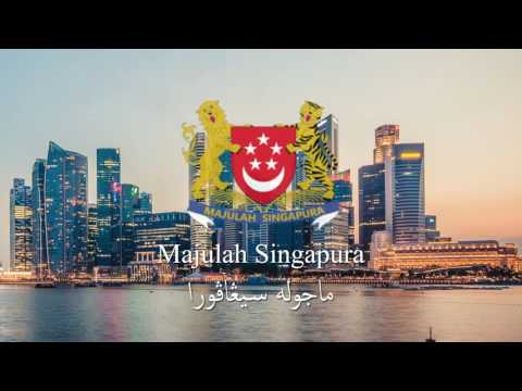 National Anthem of Singapore | Majulah Singapura | HD 1080p (with Jawi script)
